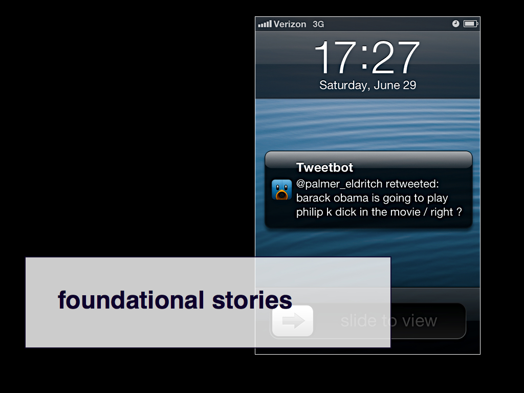 foundational stories