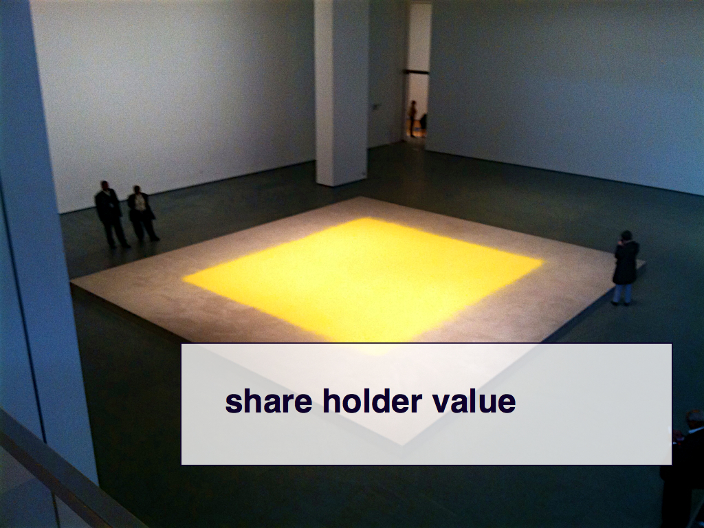 share holder value