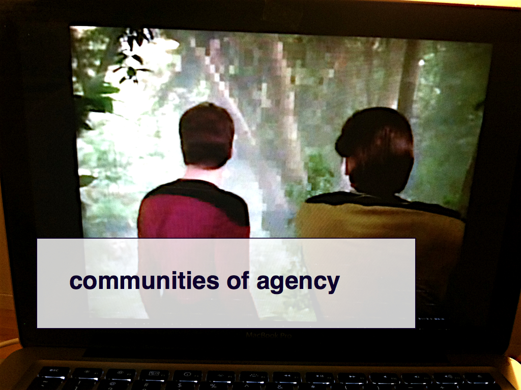 communities of agency