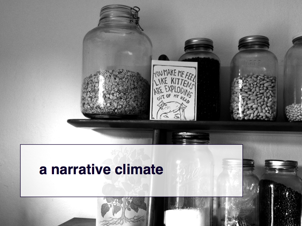 a narrative climate